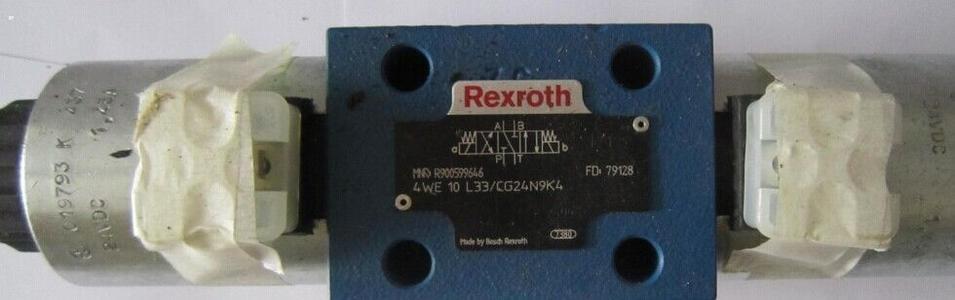 REXROTH 4WE6W6X/EG24N9K4/B10 Valves
